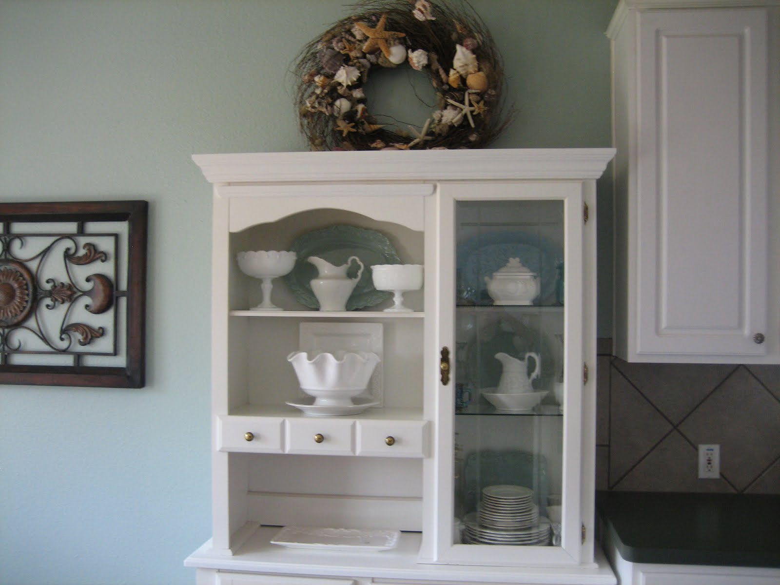 kitchen dining room paint colors oak cart behr southern breeze painted walls