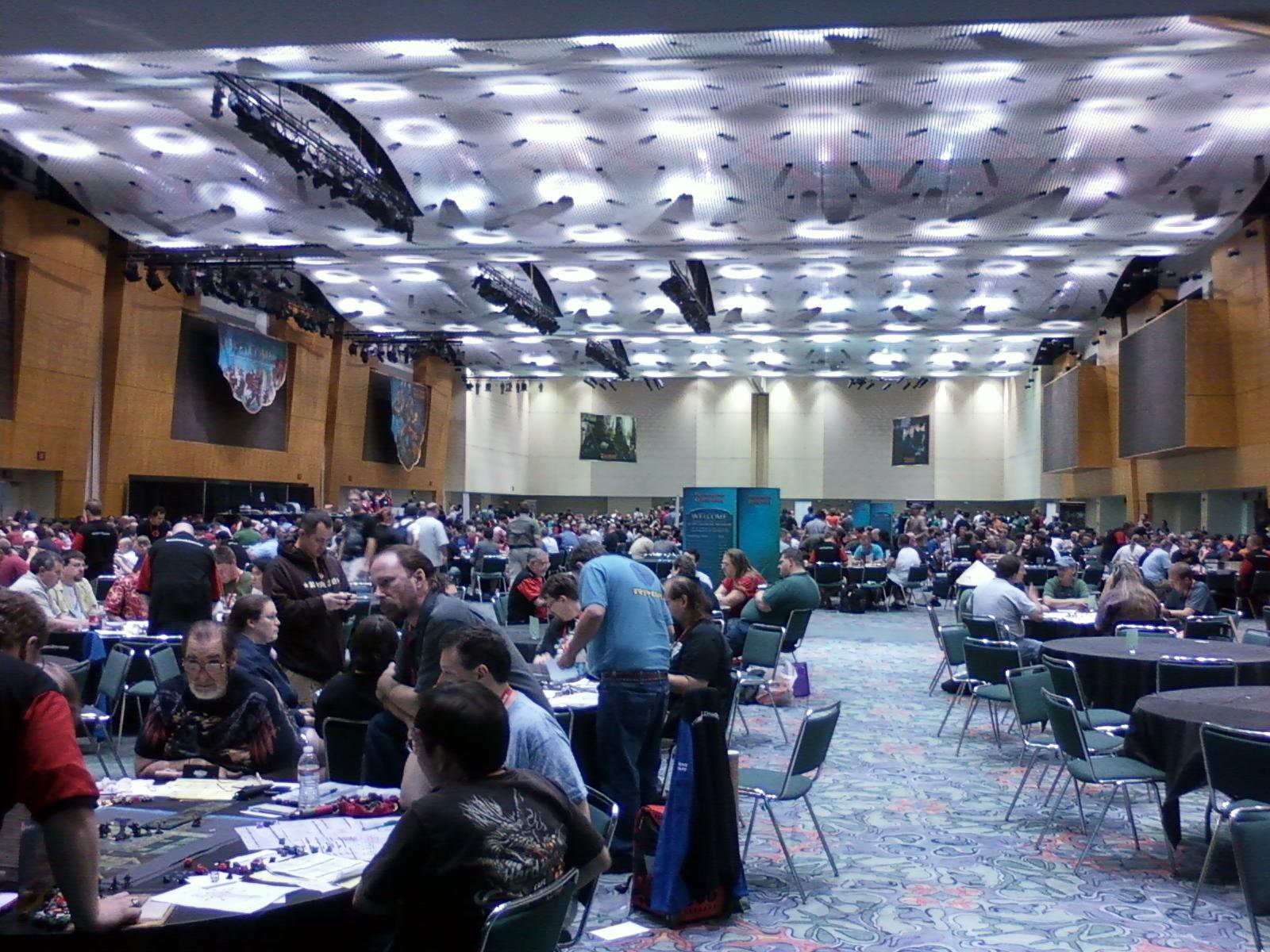 487b88aa8c This is just ONE of the D D rooms at Gen Con 2010.
