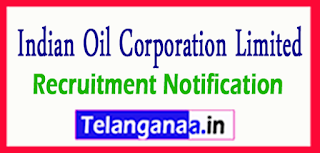 Indian Oil Corporation Limited IOCL Recruitment Notification 2017 Last date 23-06-2017