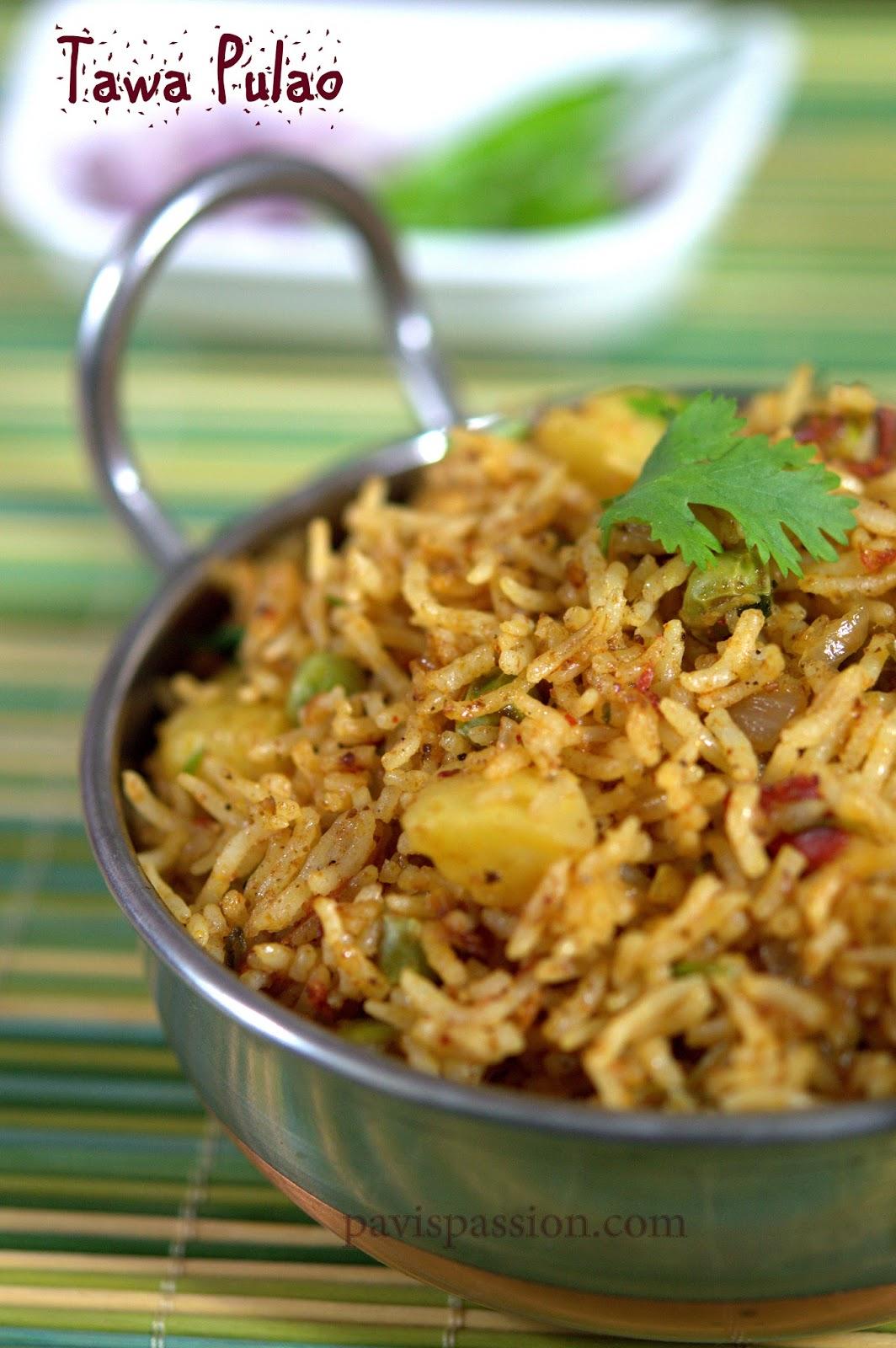 Pavispassion tawa pulao easy and quick pulao from left over rice tawa pulao easy and quick pulao from left over rice mumbai street food recipe forumfinder Images