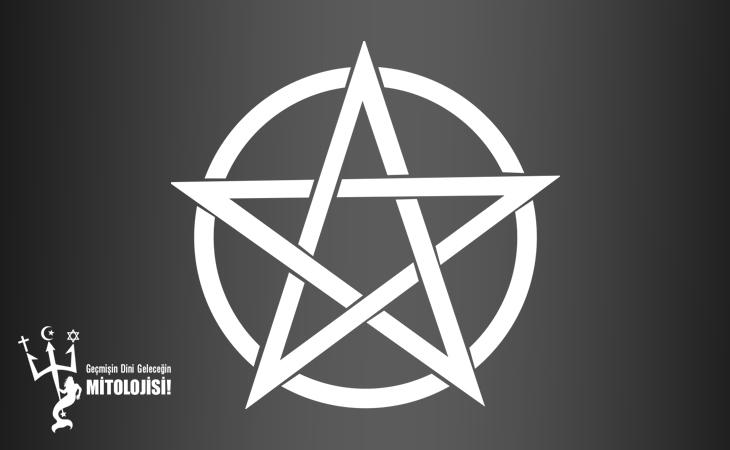 AD, din, Paganizm, Pentacle, Triquetra, Triskele, Beş köşeli yıldız, Pagan sembolleri, Sihir ve büyü sembolleri, Teslis düğümü, Baba-oğul-kutsal ruh, Kara deniz ve gökyüzü aleminin simgesi,