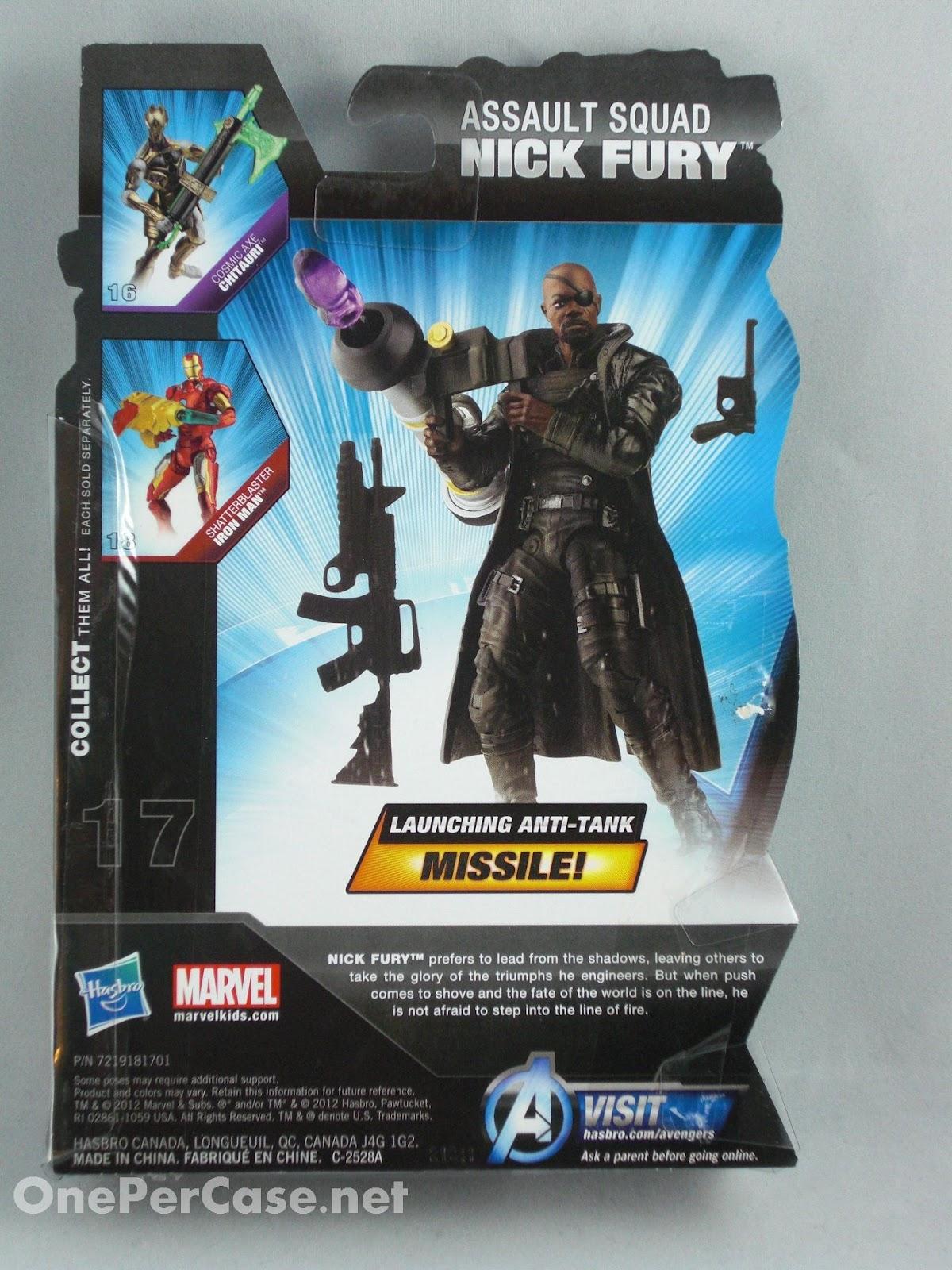 Avengers figurine Assault Squad Nick Fury