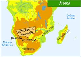 Desierto De Kalahari Mapa.Desiertos De Africa Imagenes Del Desierto De Kalahari