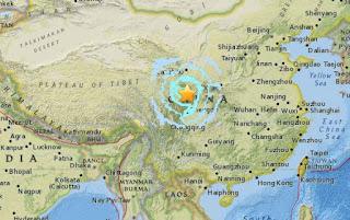 Powerful 6.5-Magnitude Quake Hits Southwestern China