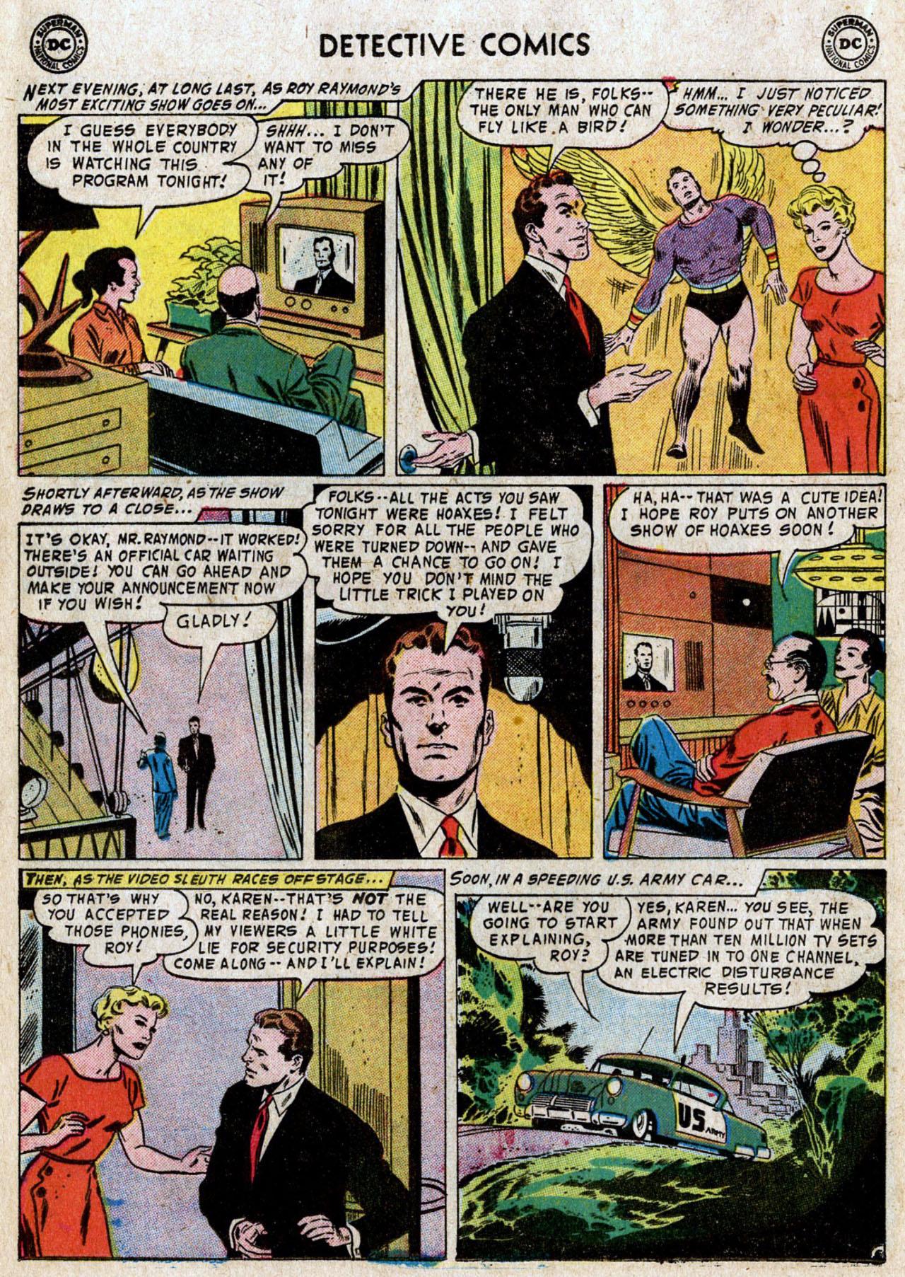 Read online Detective Comics (1937) comic -  Issue #235 - 20