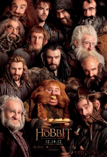 The Hobbit: An Unexpected Journey, the dwarves, middle-earth