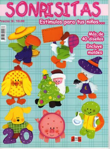 e8267843bd2 como hacer figuras en foamy - moldes - Revistas de manualidades Gratis