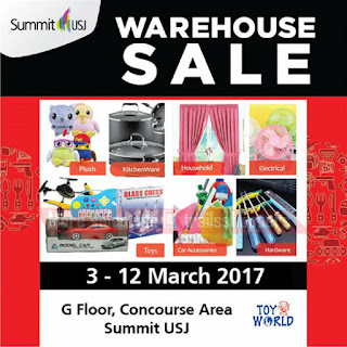 Toy World Warehouse Sale 2017