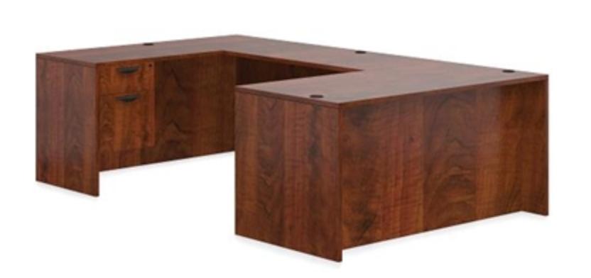 Offices To Go Dark Cherry Modular Desk