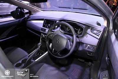 Dashboard Mitsubishi Expander