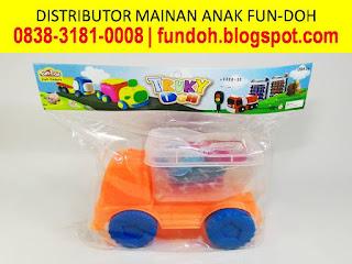 Fun-Doh Trucky Doh, fun doh indonesia, fun doh surabaya, distributor fun doh surabaya, grosir fun doh surabaya, jual fun doh lengkap, mainan anak edukatif, mainan lilin fun doh, mainan anak perempuan