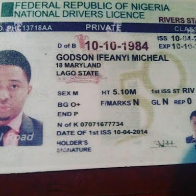 Actor Identity That Theinfong To With Drivers Fake Made His Criminals Godson Victims Their Mike Defraud Licence Warns —