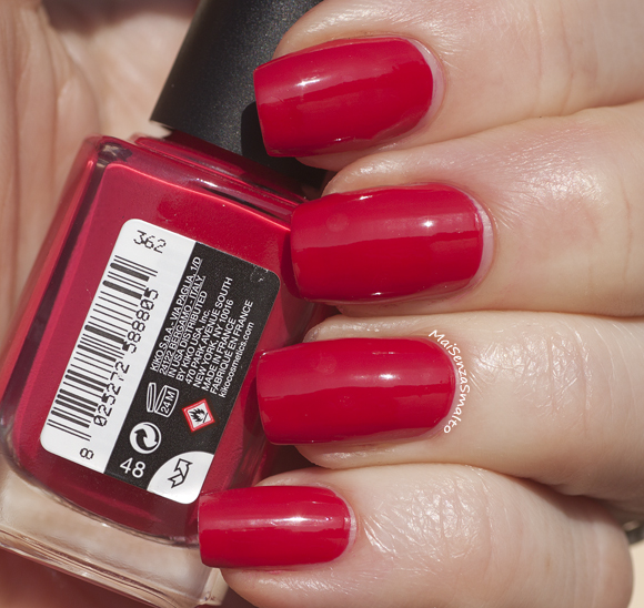 Kiko 362 Rosso Papavero - Poppy Red