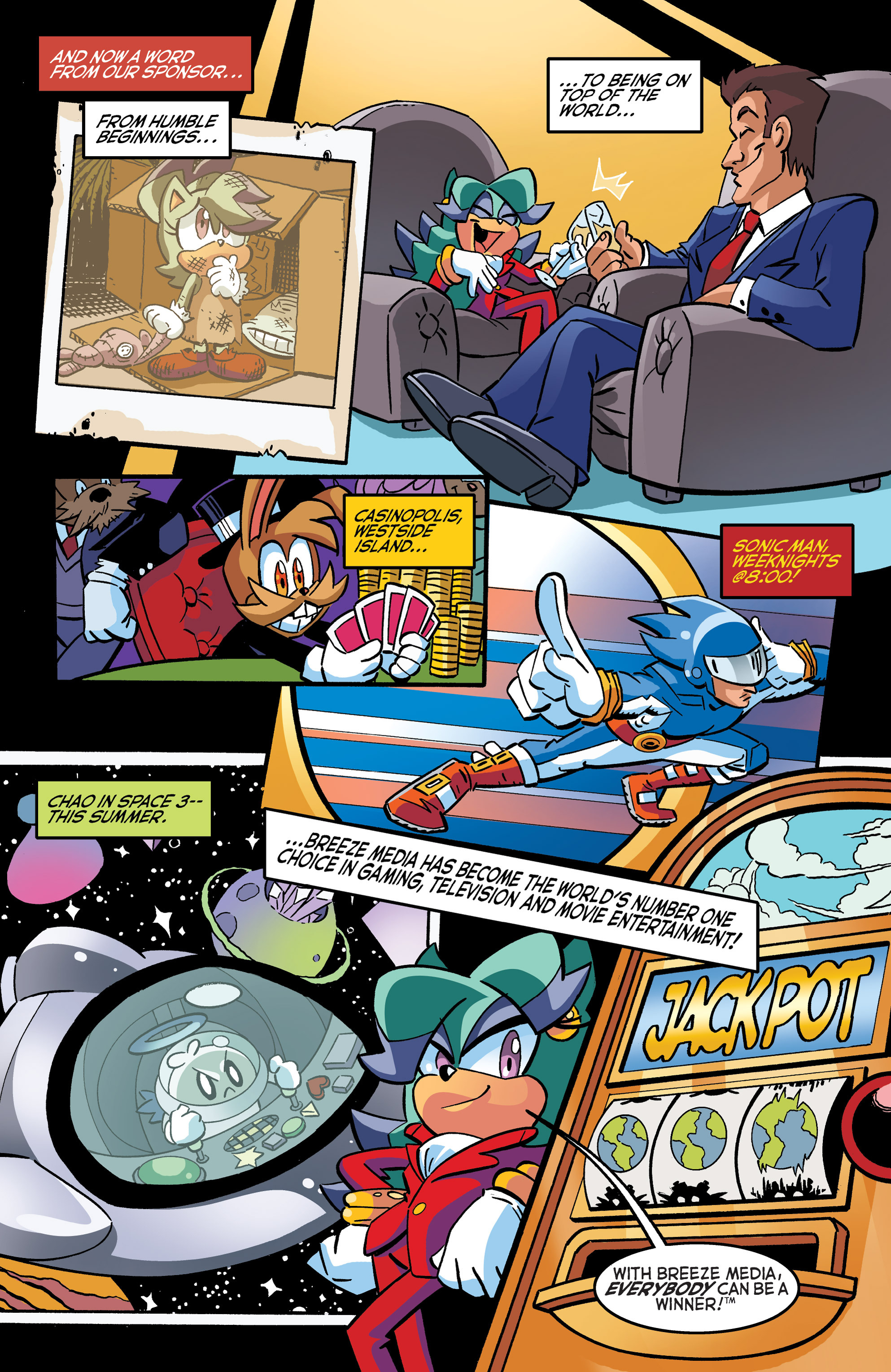 Read online Sonic The Hedgehog comic -  Issue #270 - 16