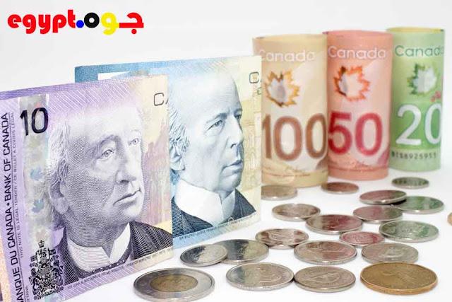سعر الدولار الكندى فى مصر اليوم - تحديث لحظه بلحظه