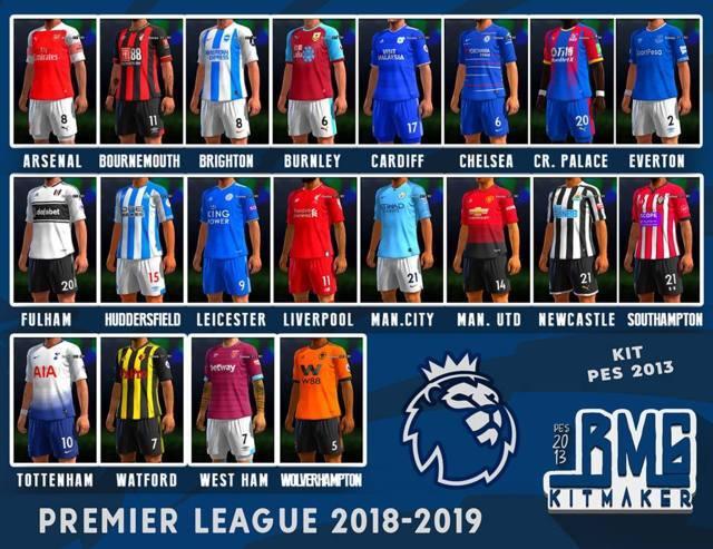 Chelsea Vs Man City: Premier League 2018-19 Kitpack