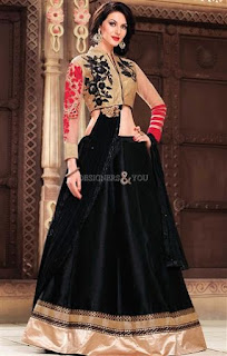 0c587b72b9477 Most of the girls avoid wearing black on special occasion but just for a  change you can wear this Pakistani bridal lehenga choli to look different  than rest ...