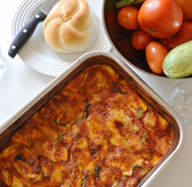 ricetta parmigiana di zucchine a crudo
