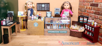American Girl cafe printables