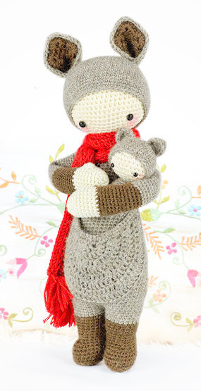 LUPO the lamb / sheep • lalylala crochet pattern / amigurumi ... | 555x285