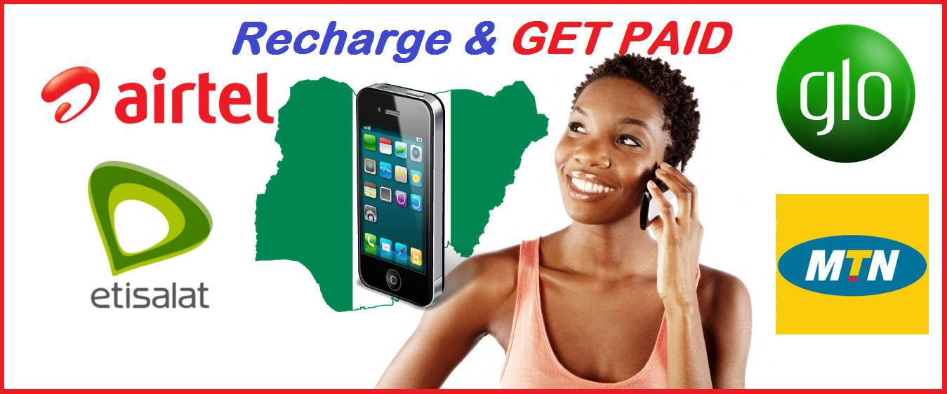 Make Money As You Recharge Your Phone,Subscribe DSTV,GOTV,STARTIMES And More With Recharge And Get Paid
