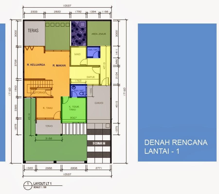 Desain dan Denah Rumah Minimalis Type 90 ~ Gambar Rumah Idaman