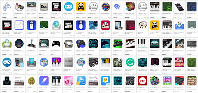 Latest Game Keyboard Cheat Code Mobile Apps Collection