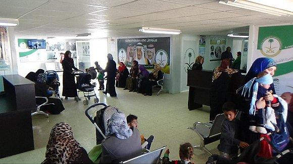 klinik Saudi Untuk Suriah