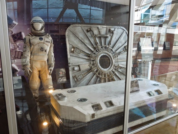 Interstellar NASA spacesuit props