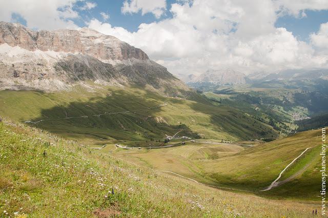 Passo di Pordoi Dolomitas viaje Italia