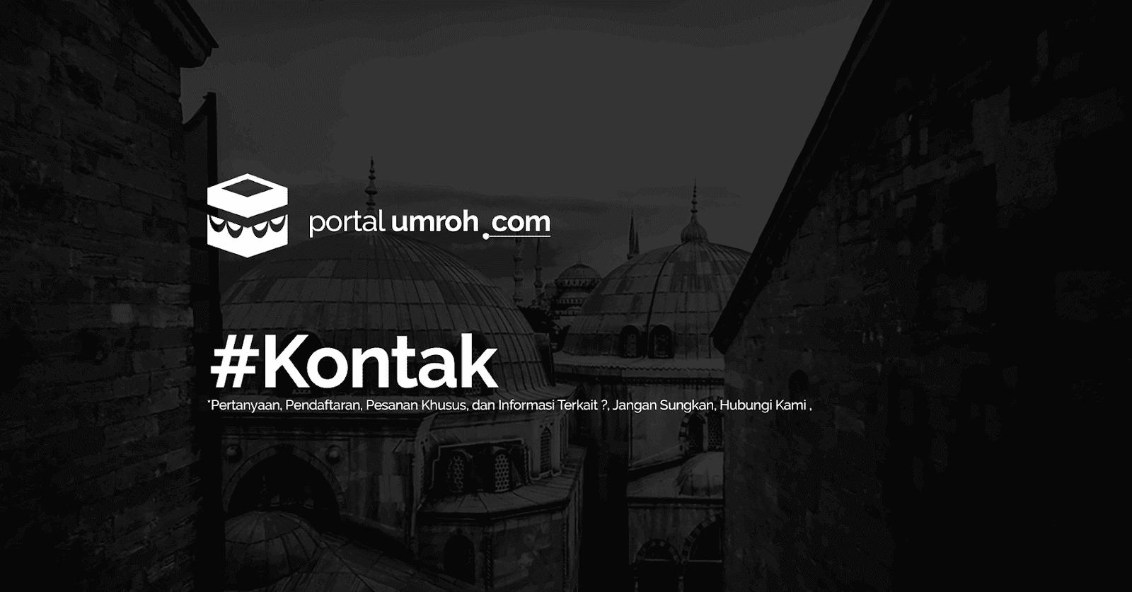 Portal Umroh - Kontak