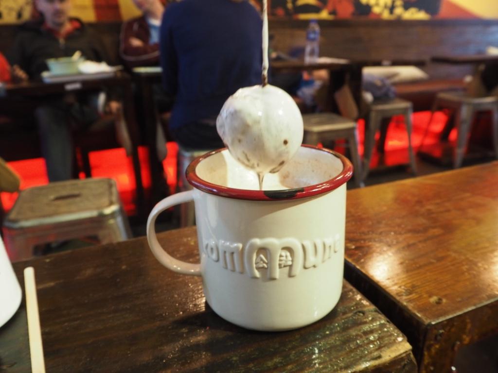 hot chocolate ball at kommune shanghai
