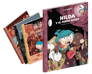 Colección Hilda de Luke Pearson