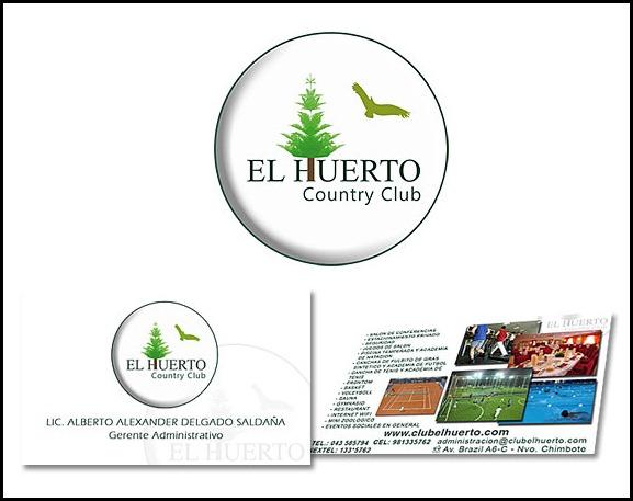 Diseño Imagen Empresarial Country Club El Huerto
