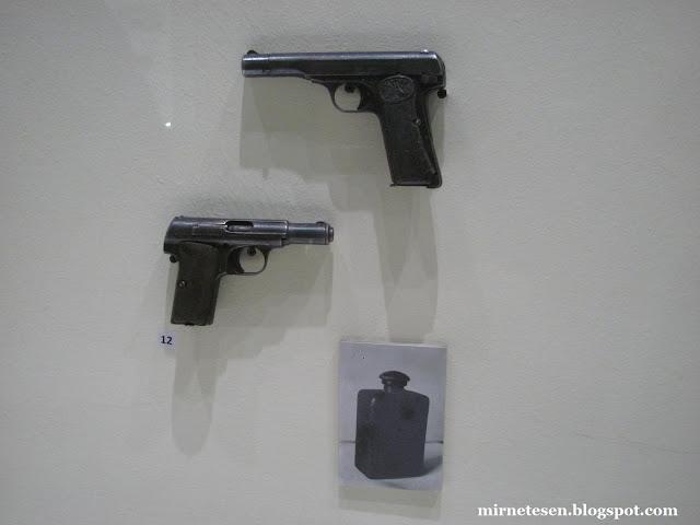 Музей Сараево - оружие Гаврило Принципа