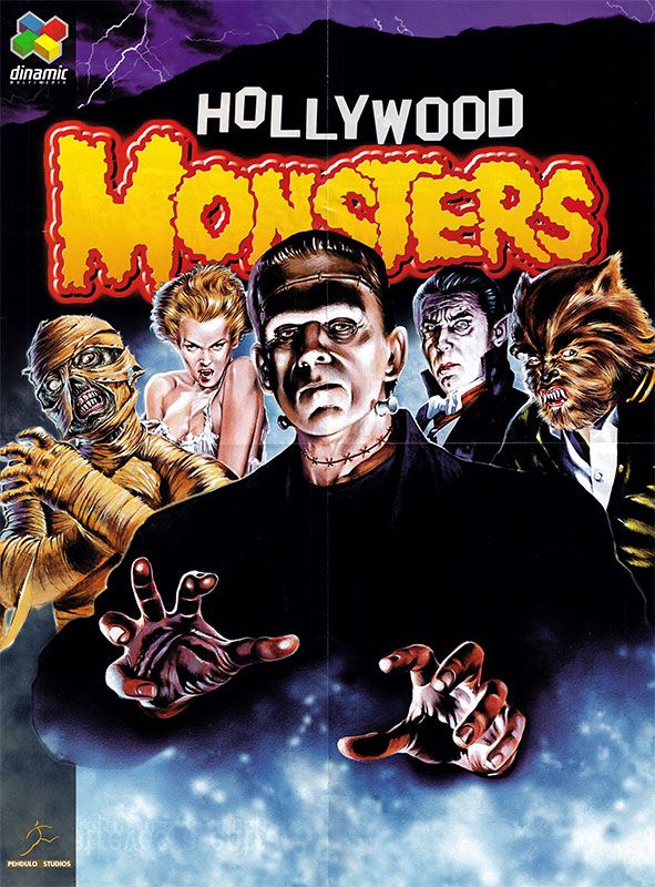 Hollywood Monsters Póster