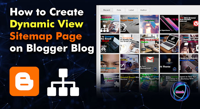 Create Dynamic View Sitemap Page on Blogger Blog