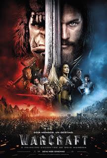 """Poster do filme """"Warcraft: O Primeiro Encontro de Dois Mundos"""""""