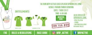 5K Run WRP Active Coco Splash Sportastic Zone • 2017