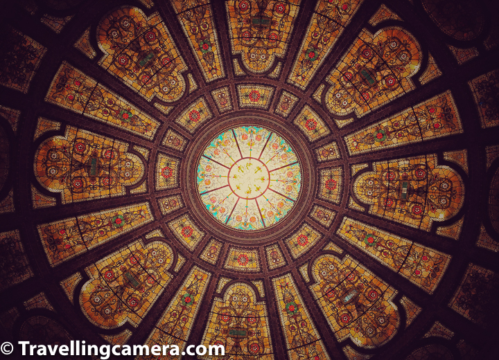 Why it's very easy to visit  Chicago Cultural Center and there is no reason you should skip it : It's located just in front of Cloud Gate