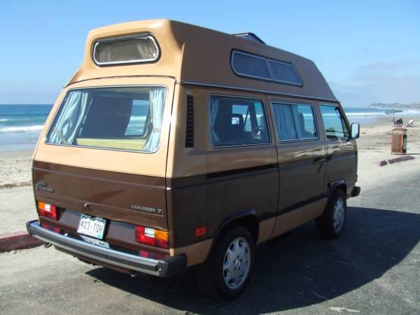used rvs 1984 vw vanagon camper for sale by owner. Black Bedroom Furniture Sets. Home Design Ideas