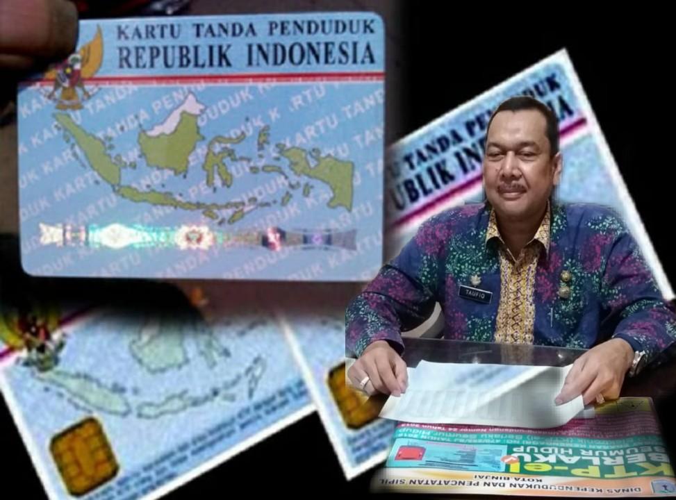 Kepala Dinas kependudukan dan Pencatatan (Dukcapil) Binjai Taufiq Bahagia.