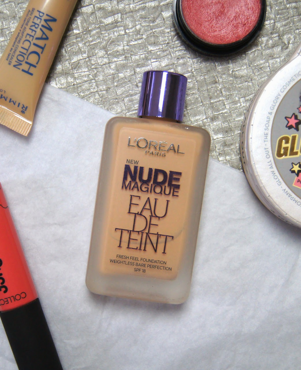 loreal nude magique foundation review