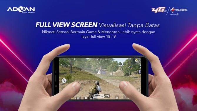 Menonton Jadi Lebih Nyata Dengan Advan Full View Screen