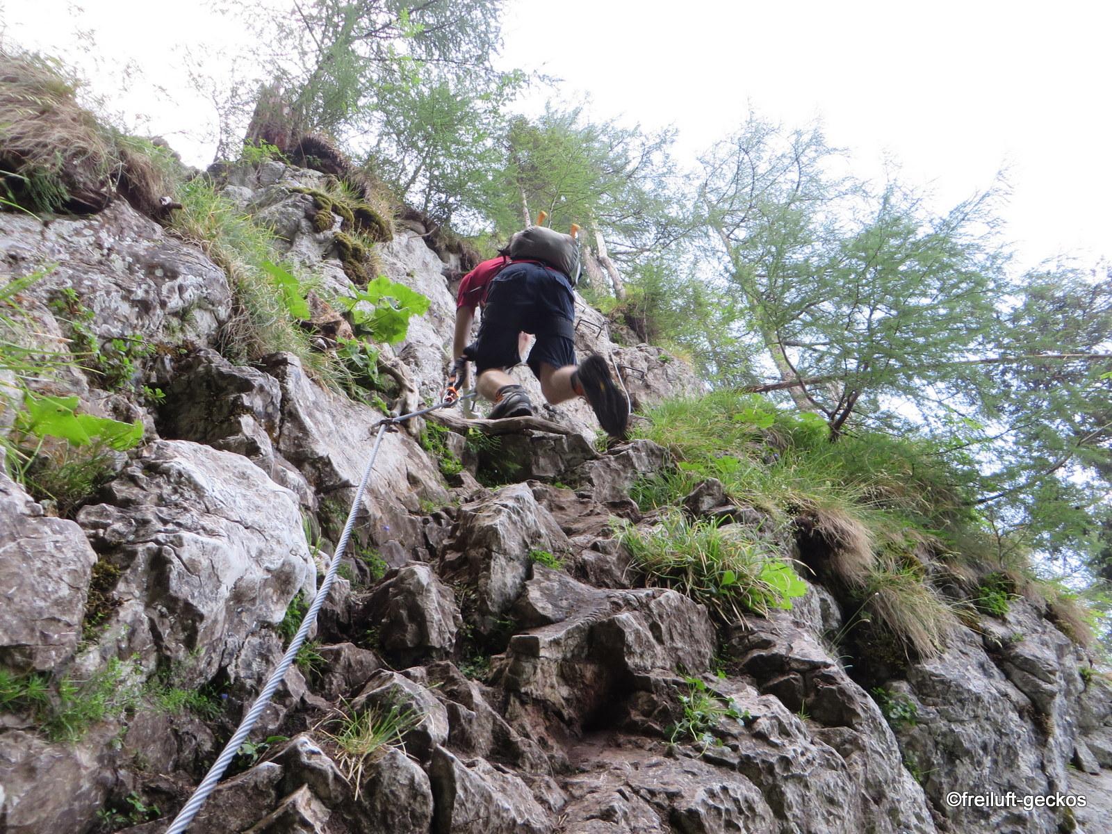 Klettersteig Hochlantsch : Freiluft geckos wandern franz scheikl klettersteig breitenau