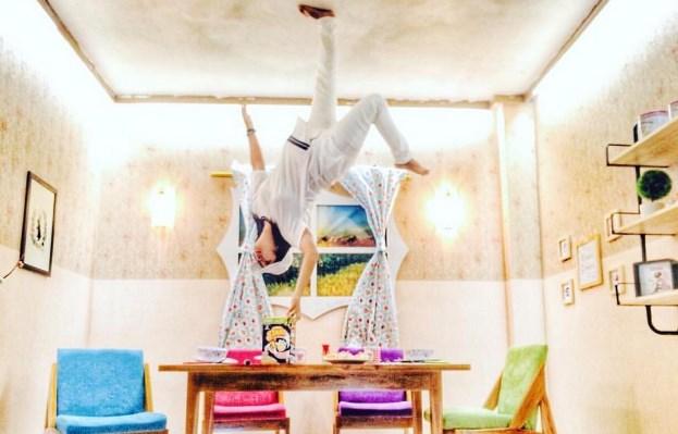 Wisata Upside Down World Jogja Tempat Serba Terbalik