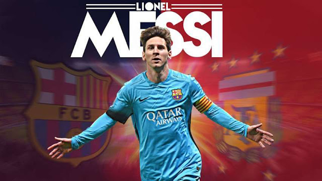 Leo Messi Start Screen Pack PES 2018