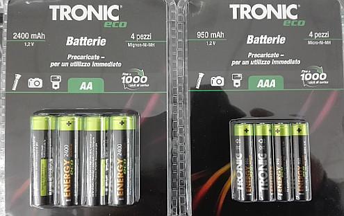 Tronic batterie ricaricabili da lidl opinioni prezzi for Mantenitore di carica lidl