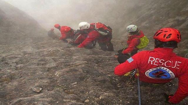 Θρίλερ με τρεις ορειβάτες σε φαράγγι στο Ξυλόκαστρο Κορινθίας