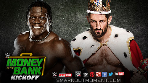 WWE Money in the Bank 2015 R-Truth vs King Barrett